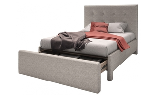 Complete Bed Twin Size (39 in.) by Beaudoin