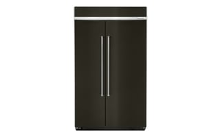 KBSN608EBS - 30.0 cu. ft 48-Inch Width Built-In Side by Side Refrigerator with PrintShield™ Finish