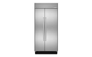 KBSN602ESS - 25.5 cu. ft 42-Inch Width Built-In Side by Side Refrigerator with PrintShield™ Finish