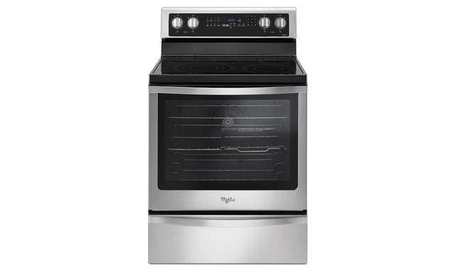Ywfe745hofs Cuisiniere Whirlpool Cuisinieres Electriques Accent Meubles