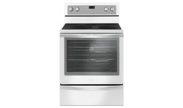 Ywfe745h0fh Cuisiniere Whirlpool Cuisinieres Electriques Accent Meubles