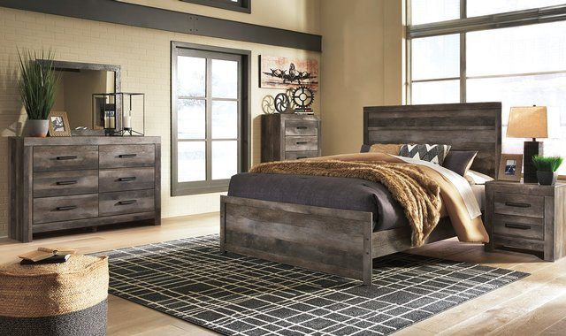 7 Piece Bedroom Set By Ashley Bedroom Sets Accent Home Furnishings
