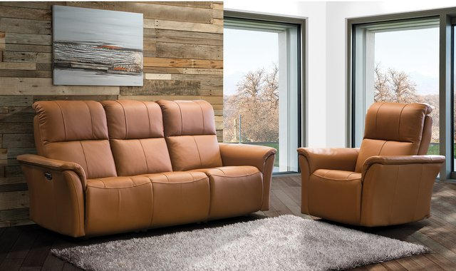 Sofa Inclinable Motorise De Elran Sofas Accent Meubles