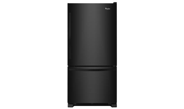 Wrb322dmbb Refrigerateur Whirlpool Refrigerateurs A Congelateur Inferieur Accent Meubles
