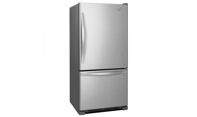 Wrb322dmbm Refrigerateur Whirlpool Refrigerateurs A Congelateur Inferieur Accent Meubles