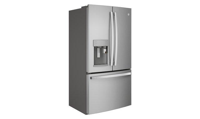 Ge Profile Refrigerateur A Profondeur De Comptoir Pye22pynfs Refrigerateurs A Portes Francaises Accent Meubles