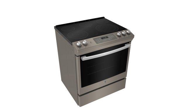 Jcs840emes Cuisiniere Electrique Encastree Ge Cuisinieres Electriques Accent Meubles